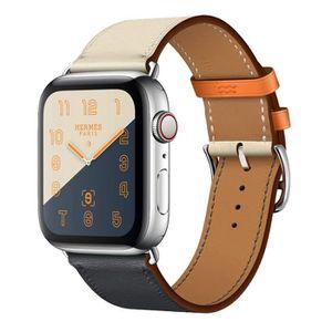 BRACELET DE MONTRE Courroie bande de montre en cuir véritable bracele