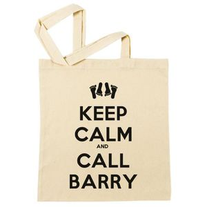 SAC SHOPPING Sac à Provisions - Keep Calm And Call Barry  Plage