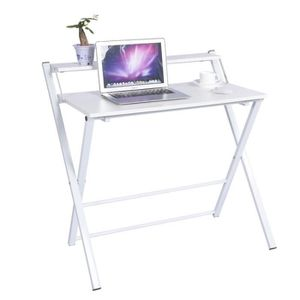 BUREAU  Bureau Informatique Table Pliable Informatique Tra