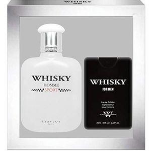 COFFRET CADEAU PARFUM EVAFLORPARIS Whisky Sport Coffret Cadeau Eau de To