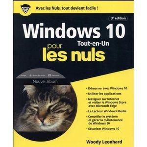 LIVRE TVCOMMUNICATION Livre - Windows 10 tout en 1 pour les nuls (3e édi