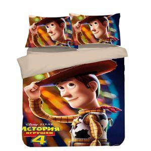 PARURE DE DRAP Toy Story Housse de Couette Fibre de Polyester -Mo
