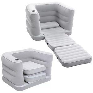 fauteuil gonflable pour 1 personne avec fonction de couchage Bestway Multi-Max 191 x 97 x 64 cm