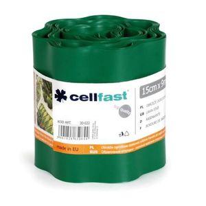 BORDURE Bordure de pelouse 200mm x 9m flexible vert foncé