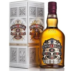 WHISKY BOURBON SCOTCH CHIVAS REGAL SCOTCH WHISKY 12 ANS 70 CL