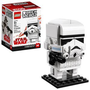 ASSEMBLAGE CONSTRUCTION Jeu D'Assemblage LEGO Brickheadz Stormtrooper 4162