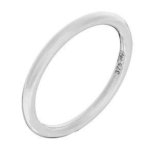 BAGUE - ANNEAU Mes-bijoux.fr - Bague Femme Modestie Or Blanc 375-