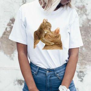 T-SHIRT Femmes Filles Taille plus Imprimer T-shirts manche
