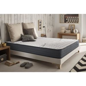 literie matelas plus sommier tres ferme achat vente pas cher. Black Bedroom Furniture Sets. Home Design Ideas