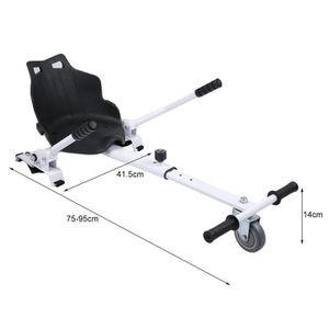 ACCESSOIRES GYROPODE - HOVERBOARD HoverKart - Complément Kart pour Hoverboard Noir