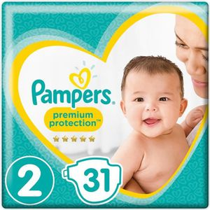 COUCHE PAMPERS Premium Protection New baby Taille 2 3-6 k