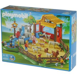 UNIVERS MINIATURE Playmobil 4851 - Parc Animalier