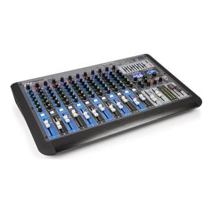 TABLE DE MIXAGE Power Dynamics PDM-S1604 Table de mixage DJ 12 can
