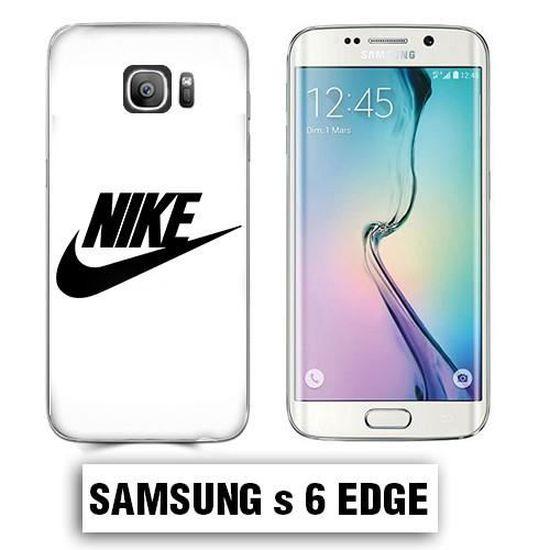Coque Samsung S6 Edge logo Nike Blanc - Cdiscount Téléphonie
