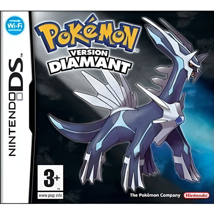Pok mon version diamant jeu ds achat vente jeu ds dsi pok mon version diamant ds cdiscount - Pokemon rare diamant ...