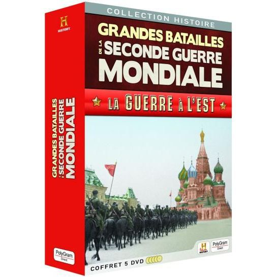 Dvd documentaire dvd grandes batailles de la seconde guerre mond