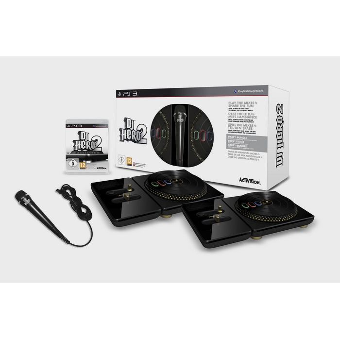 PACK ACCESSOIRE PACK DJ HERO 2 COLLECTOR / jeu console PS3