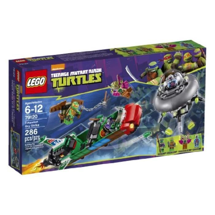 Jeu D'Assemblage TAB50 LEGO Tortues Ninja Tortues Ninja T-Rawket Sky Strike - 79120