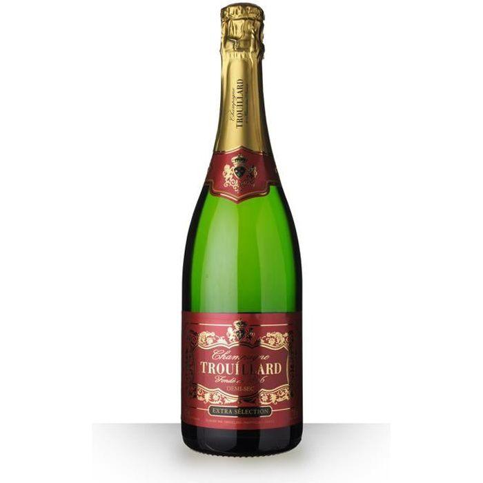 Trouillard Demi-Sec 75cl - Champagne
