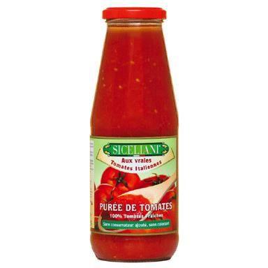 Purée de Tomates -Siceliani - [Sauces] [Pot de ...