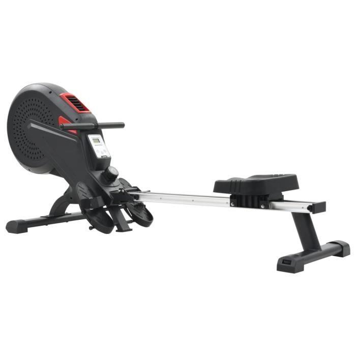 RELAX•5243Parfait Machine à ramer Professionnel - Rameur d'appartement Appareil de musculation Cardio Résistance à l'air