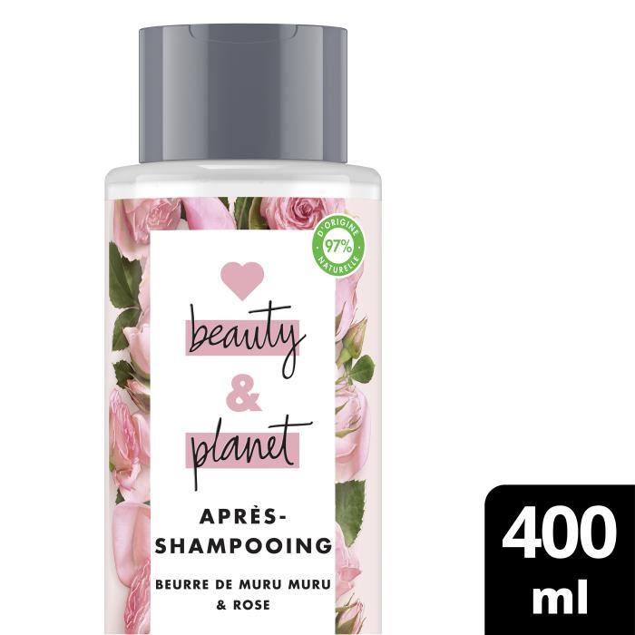 LOVE BEAUTY AND PLANET Après-Shampooing Éclosion de Couleur - 400 ml