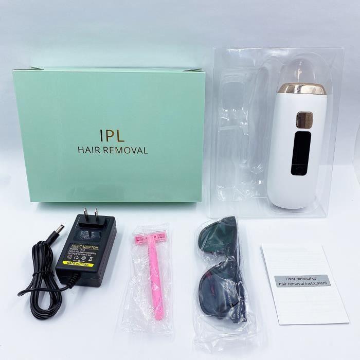 Epilateur électrique,épilateurs Epilateur lumiere pulsee Epilateur electrique femme Epilateur visage Epilateur laser - Type white
