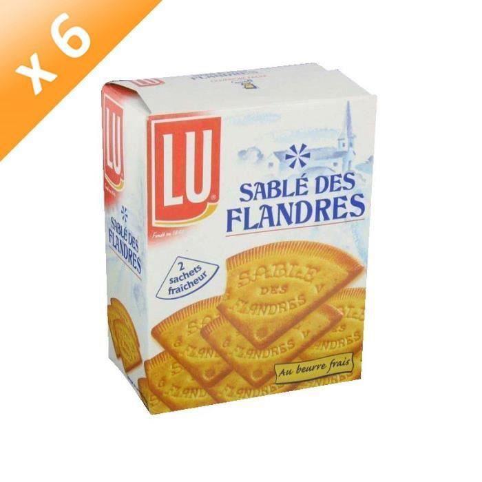[LOT DE 6] Sablé Des Flandres 250g