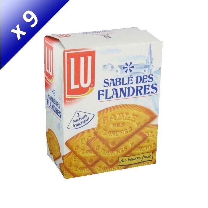 [LOT DE 9] LU Sablé des Flandres - 250 g