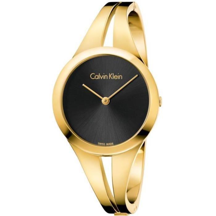 Calvin Klein addict K7W2S511 Montre Bracelet pour femmes Bracelet Manchette