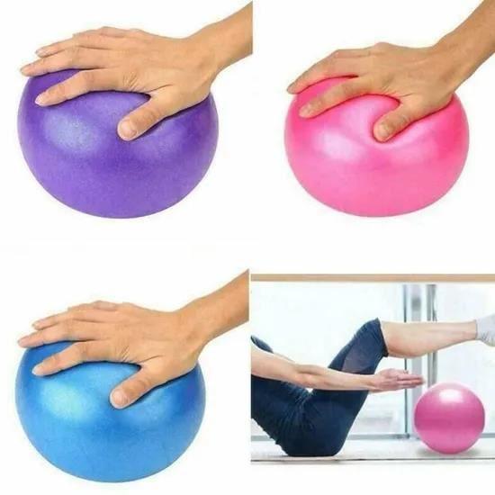 GOBRO/BALLON DE YOGA/FITNESS - 25CM -Ballon de yoga 25cm Ball ballon d'équilibre Fitness Gym Yoga Balance Ballon d'Exercice en PVC B