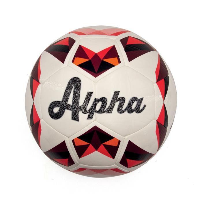 Ballon football DUARIG Alpha rouge T5