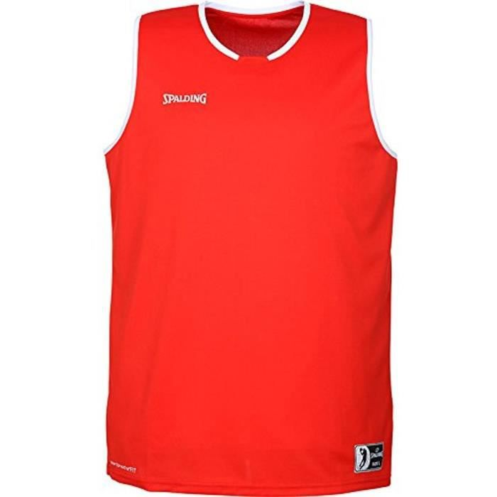 SPALDING Move Tank Maillot - Rouge/Blanc