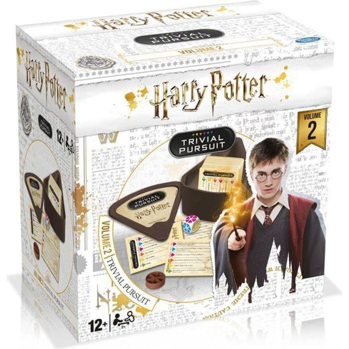 TRIVIAL PURSUIT Harry Potter volume 2 - Jeu de voyage - Jeu de questions réponses