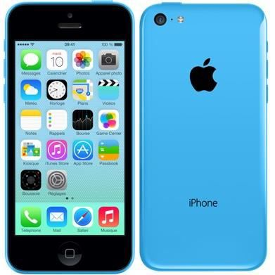 iphone 5c 16 go bleu achat t l phone portable pas cher avis et meilleur prix cdiscount. Black Bedroom Furniture Sets. Home Design Ideas