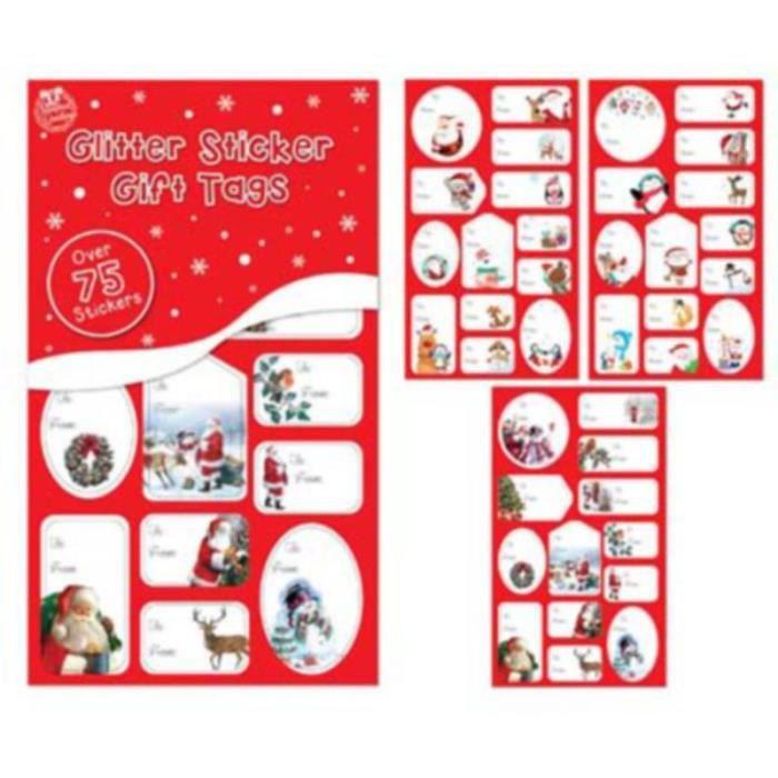 Etiquettes Cadeau Autocollant