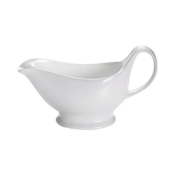 Saucière avec plaque blanc bol sauces Bol sauces Récipient bol porcelaine