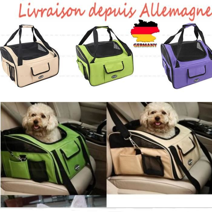 sac si ge de transport voiture pour chien chat pliable. Black Bedroom Furniture Sets. Home Design Ideas