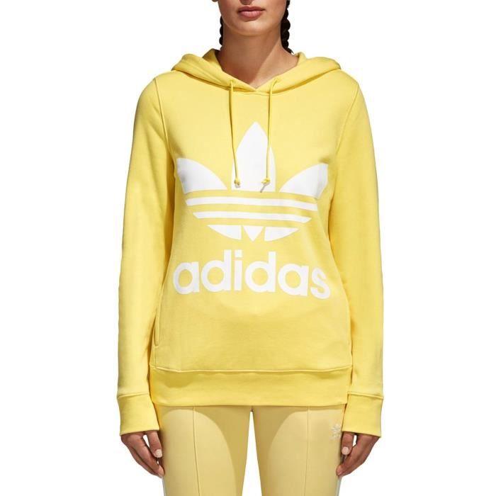 sweat adidas jaune