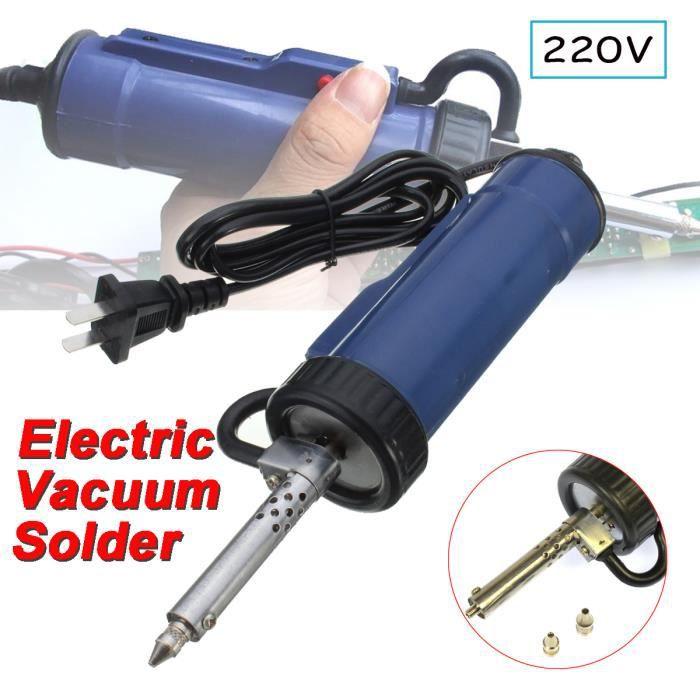 Fer à Souder Dessouder Soudure Soudage 30W 220V 50HZ Pompe Etain Electronique