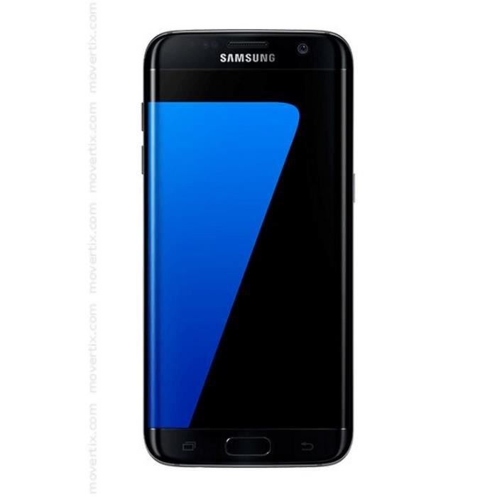 samsung galaxy s7 edge g935f 32gb noir achat smartphone. Black Bedroom Furniture Sets. Home Design Ideas