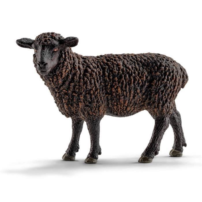 FIGURINE - PERSONNAGE SCHLEICH 13785 Figurine Mouton Noir
