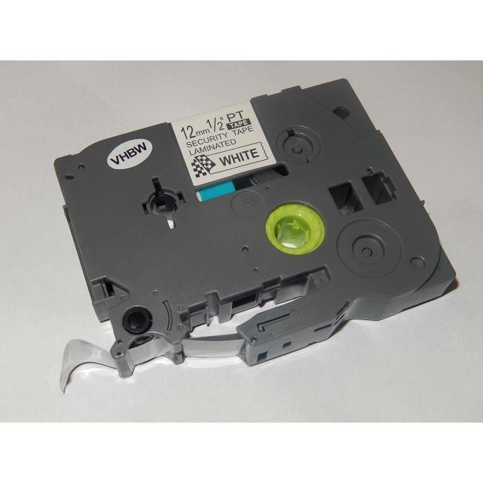 original vhbw® Schriftband Tape 12mm S-B für BROTHER P-Touch 1280CB 1280DT