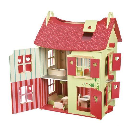 Maison de Poupées Gris Armoire à pharmacie avec miroir porte salle de bains Miniature Furniture