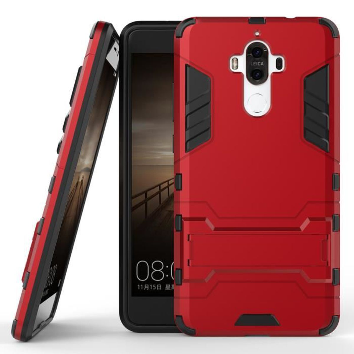 huawei mate 9 coque rouge