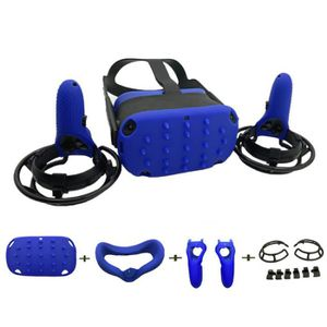 CASQUE RÉALITÉ VIRTUELLE Bleu Kit de Protecteur oculaire en silicone anti-t