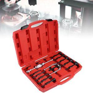 27Pcs Kit de manchons de traction pour outil de retrait de roulement de roue Outil de d/épose de roue Extracteur de voiture Joint universel Outils dextraction dinsertion de roulement