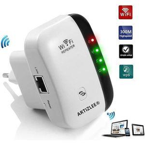 POINT D'ACCÈS Amplificateur WiFi, ARTIZLEE Repeteur WiFi Booster