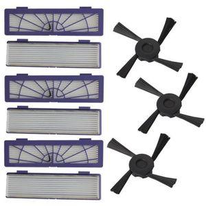 85,D75,D85 compatible 75 80 4pc Standard Filter for Neato BotVac Series 70e