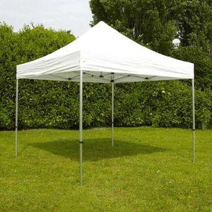 TONNELLE - BARNUM Tente de réception pliante pro 4x4 m
